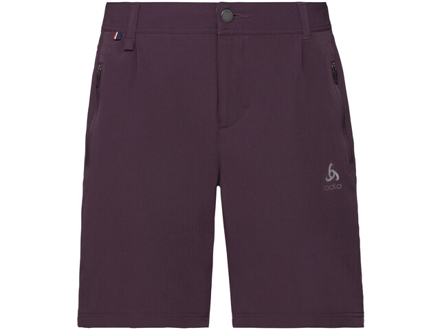 Odlo Koya Cool PRO Pantaloncini Donna, plum perfect